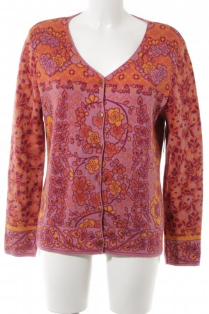 Dunque by Schweikardt Moden Strickjacke florales Muster Casual-Look