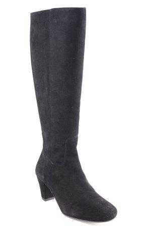 DUO Absatz Stiefel schwarz klassischer Stil