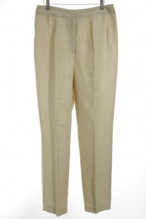 DUO Stoffhose beige Business-Look