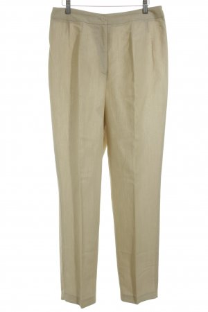 DUO Stoffhose beige Business-Look