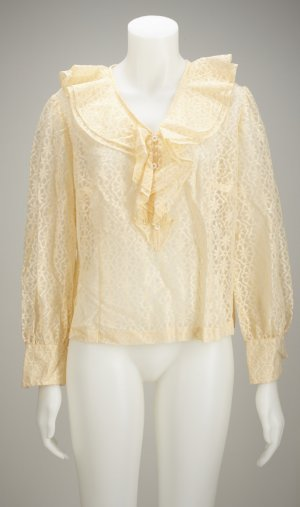 Vintage Blusa con volantes nude No hay disponibles datos de materiales