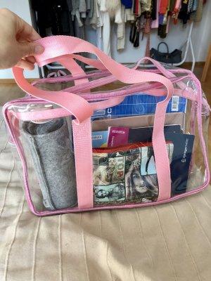 Durchsichtige Tasche; Umhängetasche für Uni
