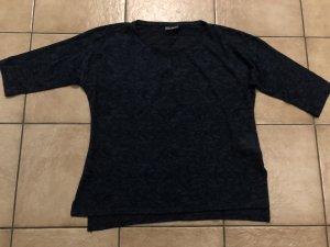 durchsichtiges blaues Dreiviertelarmshirt von Yessica / C&A - Gr. L