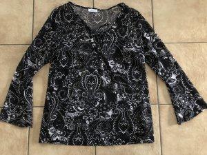 durchsichtiges Blusenshirt / Shirt / Tunika von Yessica - Gr. 44