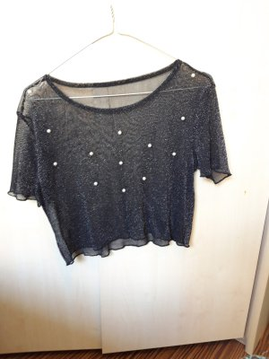 Cropped Shirt anthracite