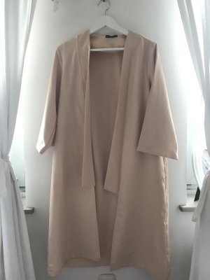 Duster coat von SheIn in Nude
