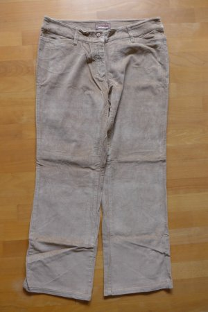 Pantalone di velluto a coste multicolore