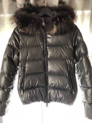 Duvetica Down Jacket multicolored fur