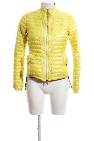 Duvetica Wendejacke blassgelb Steppmuster Street-Fashion-Look
