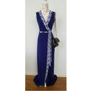 DvF diane von Fürstenberg maxikleid langes Wickelkleid wrapdress Luxus Abendkleid