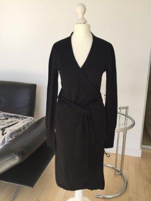 DvF Diane von Fürstenberg Strickmantel Kleid schwarz dG S 36 wie Neu