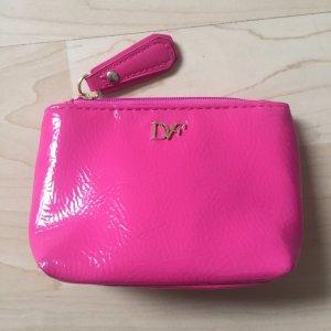 Diane von Furstenberg Mini Bag magenta-gold-colored