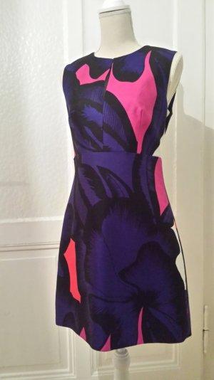 DVF Minikleid in strahlenden Farben und modernem Schnitt