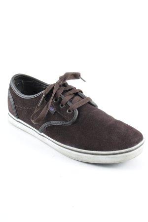 Dvs Sneaker stringata marrone stile da moda di strada