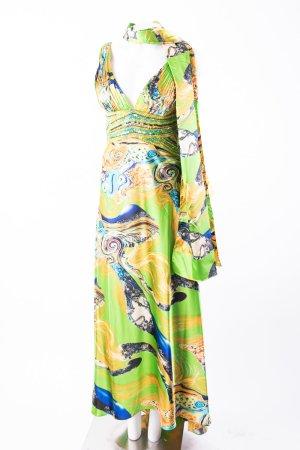 DYNASTY LONDON - Bodenlanges Kleid mit Perlenbesatz