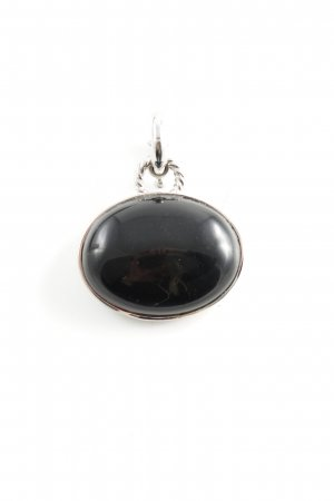 Dyrberg/Kern Colgante negro-gris claro estilo «business»