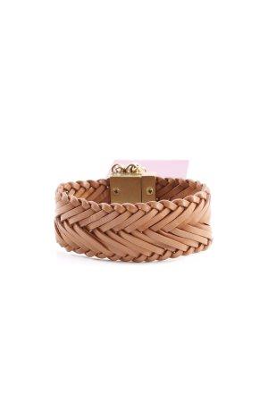 Dyrberg/Kern Armband braun-goldfarben Street-Fashion-Look