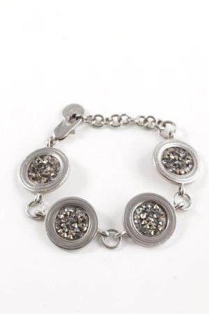 Dyrberg/Kern Armband silberfarben-grau Casual-Look