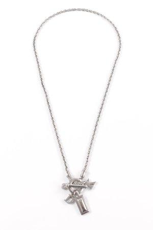 Dyrberg/Kern Necklace silver-colored elegant