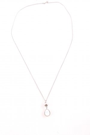 Dyrberg/Kern Necklace silver-colored-white business style