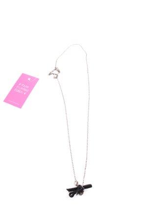 Dyrberg/Kern Halskette silberfarben-schwarz Casual-Look