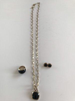 Dyrberg/Kern Chain black-gold-colored