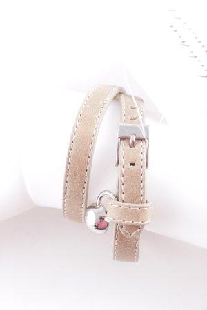 Dyrberg/Kern Lederen armband beige casual uitstraling