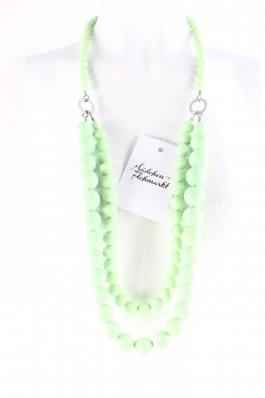 Dyrberg/Kern Collier de perles vert clair style extravagant