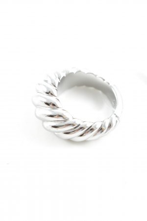 Dyrberg/Kern Silver Ring silver-colored casual look