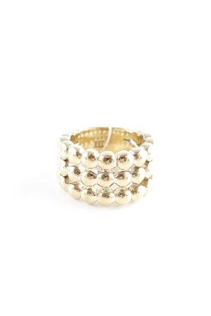 Dyrberg/Kern Statement Ring gold-colored elegant