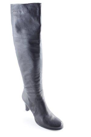 Dyva Kniehoge laarzen zwart bruin elegant