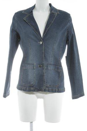 E.B. Company Jeansjacke dunkelblau Jeans-Optik