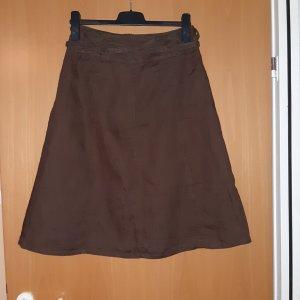 E.B. Company Asymmetry Skirt dark brown