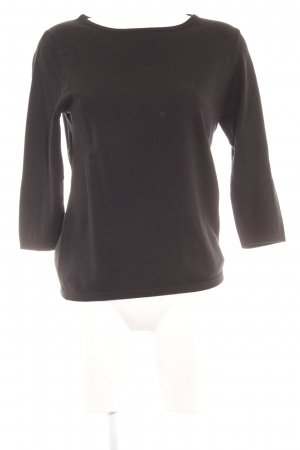 E.B. Company Wollpullover schwarz Casual-Look