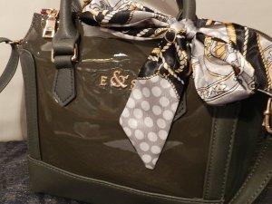 E & S Damentasche Handtasche - schicke Lacktasche - Edel & Stark - neu