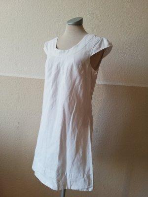 Hippie Dress white linen