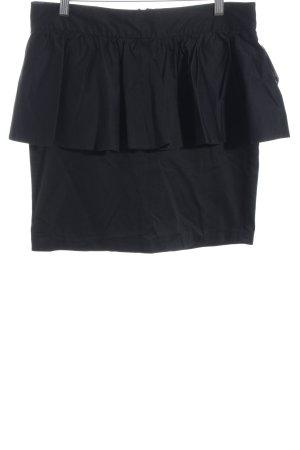 e-vie Collection Minirock schwarz Elegant