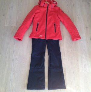 Armani Suit black-red