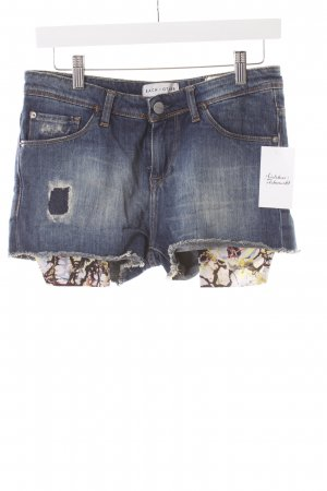 EACH x OTHER Shorts blau Destroy-Optik