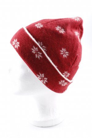 Eagle Products Beanie rot-creme Casual-Look