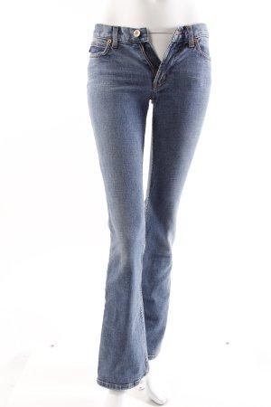 Earl Jean Jeansschlaghose hellblau