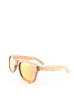 Earth Sunglasses Angular Shaped Sunglasses light brown casual look