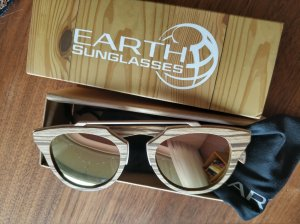 EARTH WOOD Sonnenbrille !NEU!