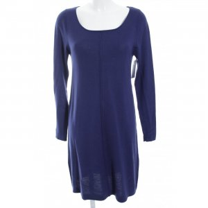 East Sweater Dress dark blue fluffy