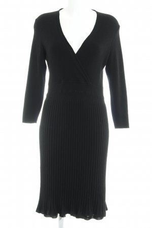 East Wollen jurk zwart casual uitstraling