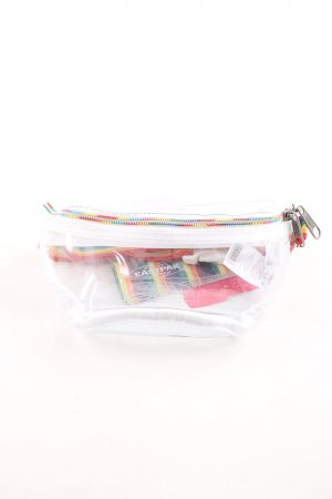 Eastpak Bumbag white-yellow rainbow pattern transparent look