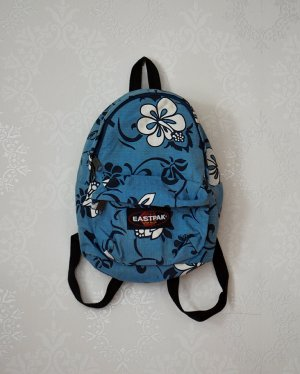 Eastpak Mini Orbit XS Retro Blumen Rucksack Backpack 90s Hibiskus