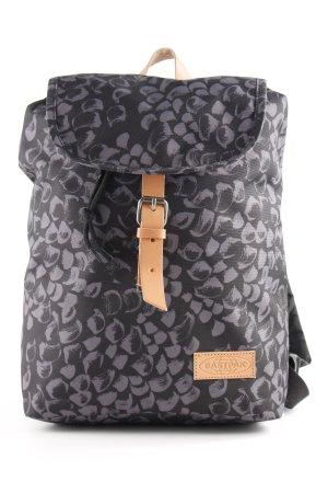 Eastpak Mochila escolar gris antracita estampado con diseño abstracto