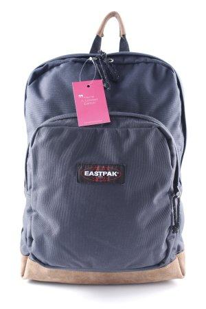 Eastpak School Backpack dark blue-light brown casual look
