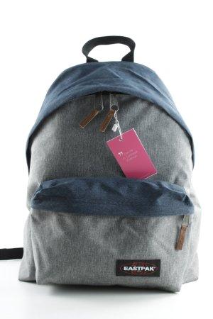 Eastpak Schulrucksack grau-dunkelblau meliert sportlicher Stil